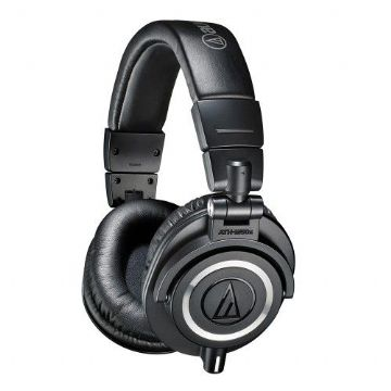Audio Technica ATH-M50X Professional Studio/DJ/Monitor Headphones